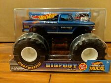 NEW FOR 2019 HOT WHEELS MONSTER TRUCK JAM BIGFOOT 4X4X4. 1:24 SCALE.