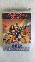 Sega Game Gear Alien Syndrome CIB Arcade Boxed w/ Manual vgc