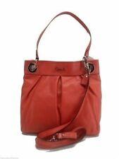 Coach Ashley Leather Hippie Shoulder Bag Handbag Geranium + Strap New! NWT