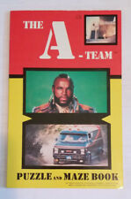 The A-Team Puzzle & Maze Book NBC TV Series Stephen J. Cannell Paperback 1983