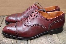 Mens Crockett Jones Handgrade Berkeley Captoe Brogue Shoes 330 8.5E England