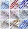 10-50 PCS 12x6mm Teardrop Shape Tear Drop Glass Faceted Loose Crystal Beads
