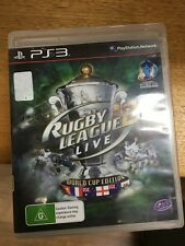 rugby league live 2 world cup ed ps3