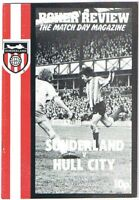 Sunderland v Hull City 1974/5