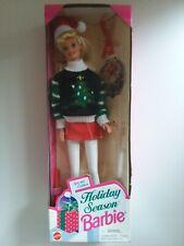 1996 Holiday Season Barbie Special Edition Doll X-Mas Sweater 15581 Mattel Nib