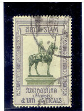 THAILAND 1908 Statue of King Chulalongkorn 5b FU