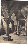 50 - cpa - LE MONT ST MICHEL - L'abbaye - Crypte de l'Aquilon
