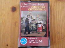Umberto & Giovannella Duetti 'cco meli  FOLKLORE DI SICILIA   MC  RAR!