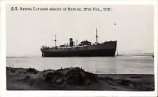 Redcar. Tanker Athina Lavanos / Livanos Shipwreck by A.B. Graham, Redcar.