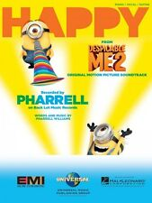Happy from Despicable Me 2 Sheet Music Piano Vocal Pharrell Williams N 000126965