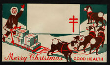 1951 - 1954 Christmas Seals Booth Envelope