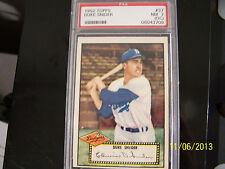 1952 Duke Snider Topps 37 Baseball PSA 7 OC Brooklyn Dodgers Major Leagues