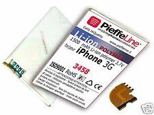 batteria per APPLE IPHONE 3G  Li-ionPolymer1500mAh +FLAT