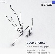 Hussong Stefan Miyata Mayumi Deep Silence CD Album Wergo
