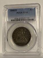 1844-O Seated Half dollar PCGS XF 40 NICE ORIGINAL COIN