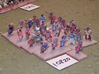 25mm dark ages / ghaznavid - infantry 25 figs - inf (10820)