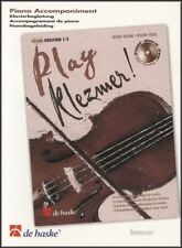 Play Klezmer Piano Accompaniment for Violin Piano Sheet Music Book