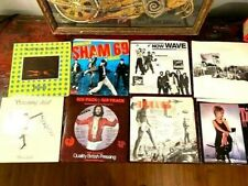 """8 VINYL 7"""" SINGLES/COVERS  OF 1960s BRITISH HITS (NEW VERSIONS OF OLD SONGS #1)"""
