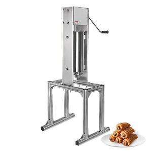 ALDKitchen Churro Maker with a Working Stand   No plug   5L   Manual   No Fryer