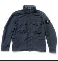 Stone Island David Tela Light-TC Jacket Navy
