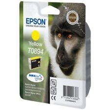 Original Epson T0892 Affe, wisch- und wasserfeste Tinte (Singlepack) yellow