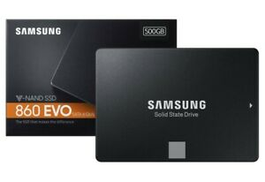 "Hard Disk Samsung SSD 860 EVO 2.5"" 500GB SATA III MZ-76E500B Solid state Drive"