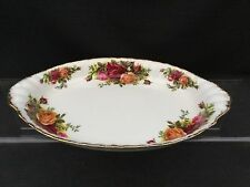 ROYAL ALBERT OLD COUNTRY ROSE OVAL PICKLE TRAY