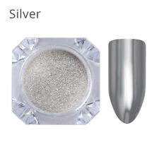 1g/box Magic Mirror Powder Chrome Effect Dust Shimmer Nail Art Powder Glitter