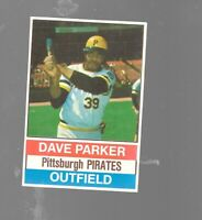 1976 Hostess Dave Parker 133 Pittsburgh Pirates Baseball Card