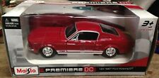 1967 Ford Mustang GT Red Maisto 1/24 Scale Diecast Model