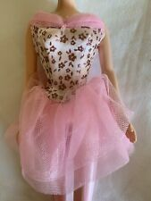 MATTEL BARBIE DOLL BALLET FEATHER TUTU DRESS NEW FROM PACKAGE *LOOSE*  NO BOX