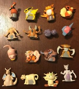 Rare Pokemon Miniature Figures Lot 2 from Mystery Poke Pack U PICK ONE FIGURE