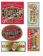 Cigar Labels and Other Vintage Style Labels #Fh446