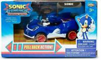 Sonic The Hedgehog All Stars Racing Transformed Pull Back Action Toy Car