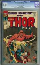 JOURNEY INTO MYSTERY #121 CGC 8.0 OW/WH PAGES // ABSORBING MAN APP 1965