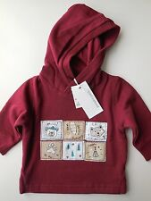 PUMPKIN PATCH BABY BOY HOODIE TOP WARM JUMPER SIZE 000 FITS 0-3M *NEW *GIFT
