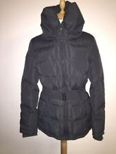 FRESH MADE grey winter women's outdoor down & feather jacket size XL 16 RRP £90