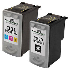 2pk BLACK PG-30 COLOR CL-31 Ink Print Cartridge for Canon