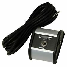 Kinsman KFS1 Footswitch Single Hard Wearing With Robust Metal Cases