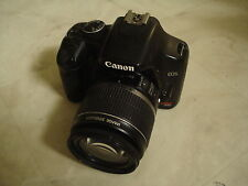 Very Nice Canon EOS XSI 450D 12MP Digital SLR Camera Body with 18-55mm IS Lens