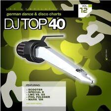 DJ Top 40 Vol.12 German Dance + Disco Charts / 2-CD / NEU+UNGESPIELT-MINT!
