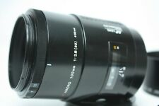 Minolta AF Macro 100mm F2.8 Lens for Minolta/Sony A from Japan Excellent+++