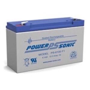 Power-Sonic PS-6100 Battery - 6V 12AH