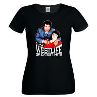 Funny Offensive Fred & Rose West Ladies T-Shirt Westlife Serial Killer NSFW Tee