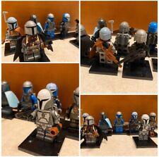 (7) Mandalorian Warriors ~ STAR WARS ~ Custom Minifigures ***FAST SHIPPING***