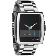 NEW Nixon Axis Black Stainless Steel Men's Watch NIB A324 000 $325