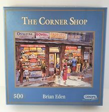 Gibsons 500 piece Jigsaw Puzzle The Corner Shop by Brian Eden
