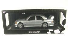 Mercedes-benz 190e 2.5-16 evo 2 1990 (plata metálica) 1:18 Minichamps