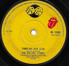 THE ROLLING STONES - TUMBLING DICE / SWEET BLACK ANGEL - 70s CLASSIC ROCK - 1972