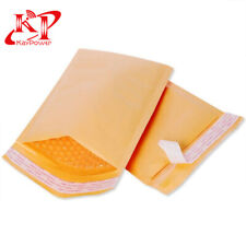 50 #000 Kraft Padded Bubble Mailers Shipping Envelopes 6